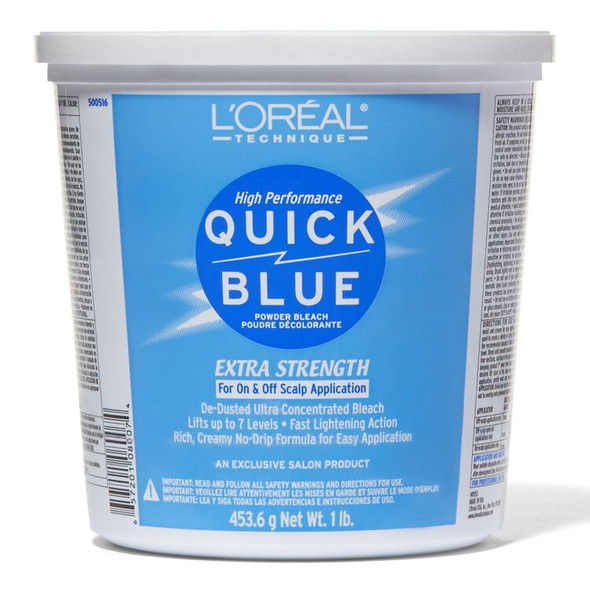 Loreal Quick Blue Powder Bleach Tub 1Lb.