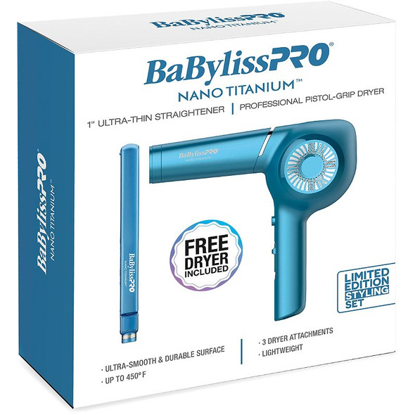 BaByliss PRO Nano Titanium Limited Edition Styling Set