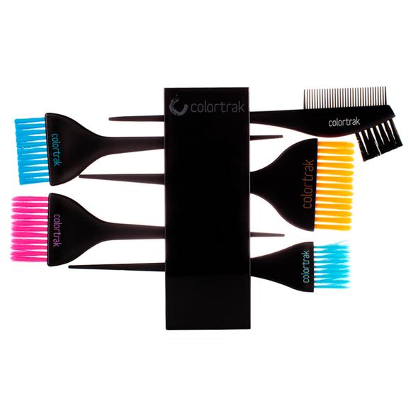 Colortrak  Brush Set and Holder  7012
