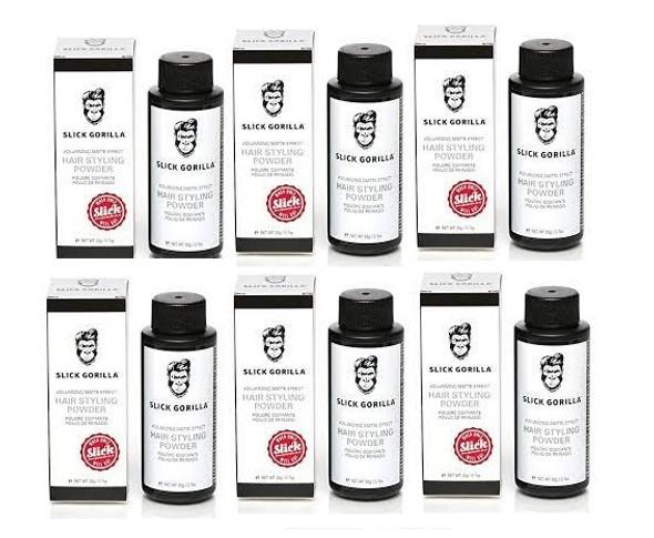 Slick Gorilla Hair Styling Texturizing Powder 0.70 oz 6PK