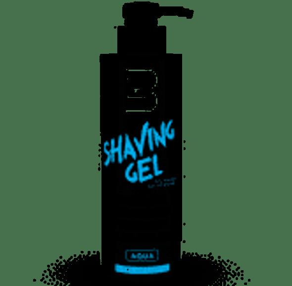 "L3VEL3 Transparent ""Aqua"" Shaving Gel - 500 ml."