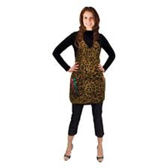 Salonchic - Leopard Salon Apron