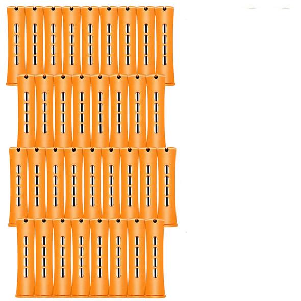 Perm Rods  48pc Jumbo Tangerine 3/4