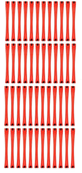 Perm Rods  48pc Red  Short 1/8