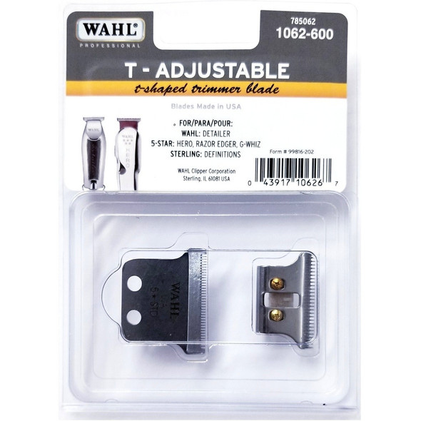 Wahl Professional T-Shaped Trimmer Blade #1062