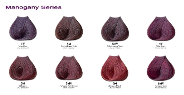 Satin Hair Color MAHOGANY  Series 3oz