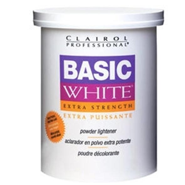 Clairol Basic White Extra Strength Powder Lightner 16oz