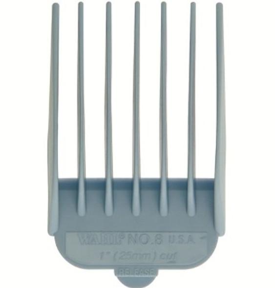 """Wahl Attachment Comb #8 Nylon 1"""" Light Blue"""
