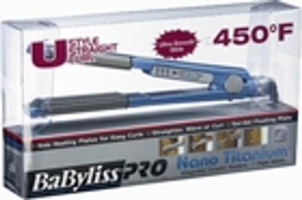 """BaByliss Pro Nano Titanium 1"""" U Styler Flat Iron"""
