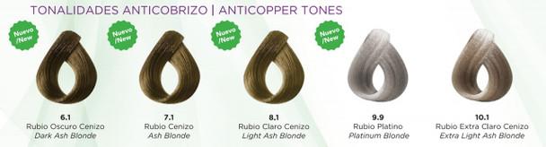 Extra Light Ash Blonde/Rubio Extra Claro Cenizo # 10.1