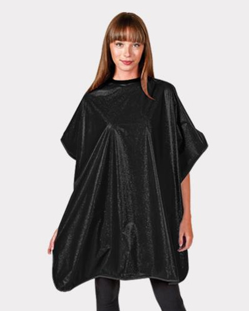 Betty Dain Shampoo Cape - Black