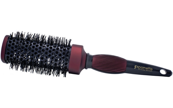 "Spornette Square Heat Styler Brush 2.5"" Medium"