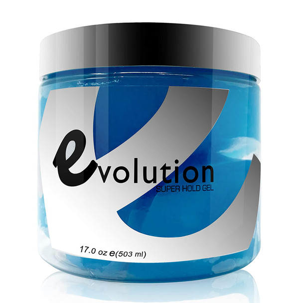 Evolution Super Hold Hair Gel 17 oz 12pk