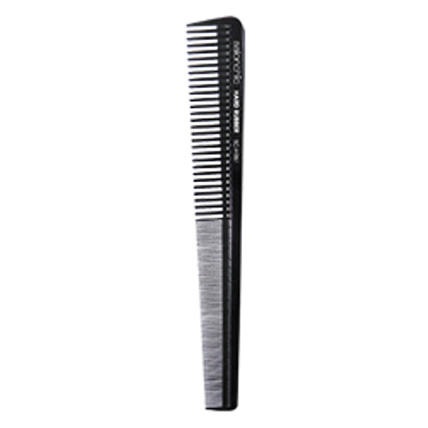 Hard Rubber Barber Tapered  Comb 7 1/4  by Salonchic