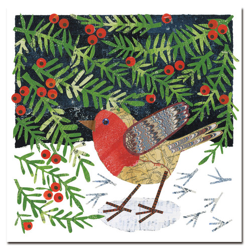 ROBIN & YEWBERRIES CHRISTMAS 6 CARD PACK