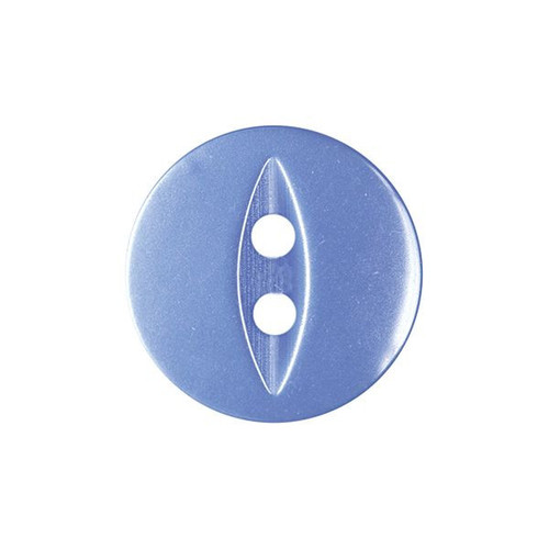 Royal Blue Fisheye Baby Buttons - Available in 4 Sizes (Sold Individually)