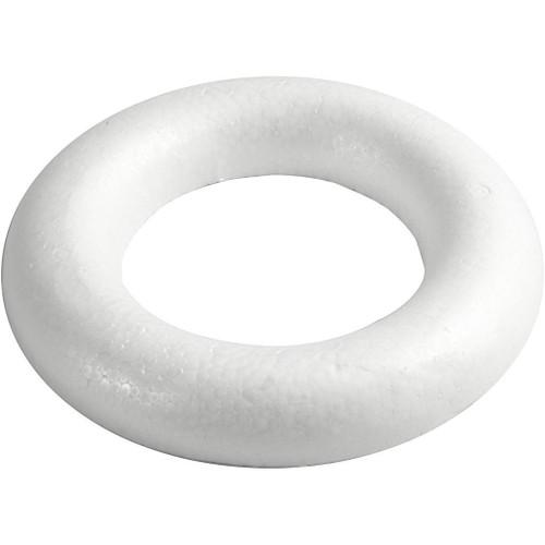 Half-Rounded Polystyrene Ring,  25cm/10in