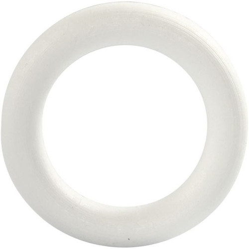Rounded Polystyrene Ring, 12cm/5in