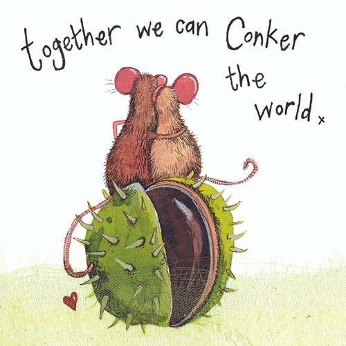 Conkers Mice Card