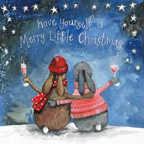 Christmas Drinks Starlight Card