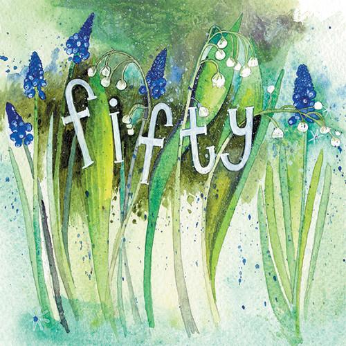 Fifty Birthday Card