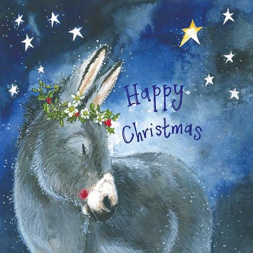 Little Donkey Christmas Card Pack