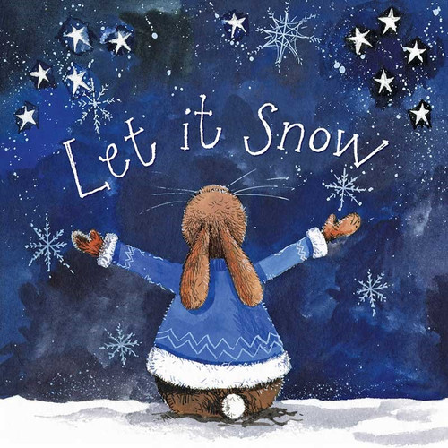 Let it Snow Little Starlight Christmas Card