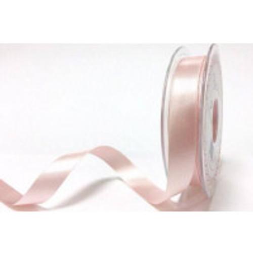 15mm 70 Pale Pink Double Satin Berisfords Ribbon ( Sold per Metre)