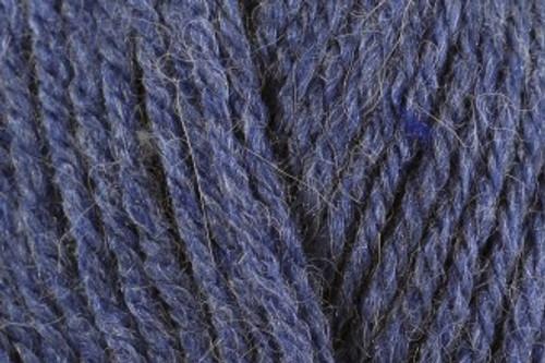 Denim Blue Aztec Aran with 10% Alpaca (100g) AL16