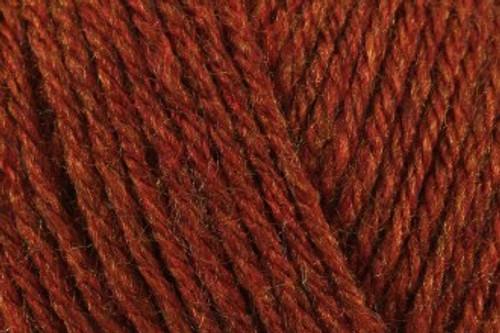 Copper Aztec Aran with 10% Alpaca (100g) AL14