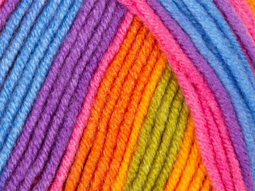 Bright Rainbow Party Time Chunky (100g) PT01