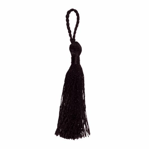 Tassels - 10cm Black ( Sold individually)