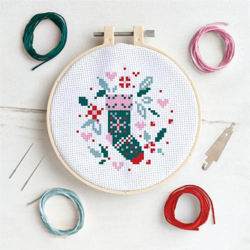 Cross Stitch Kit - Stocking