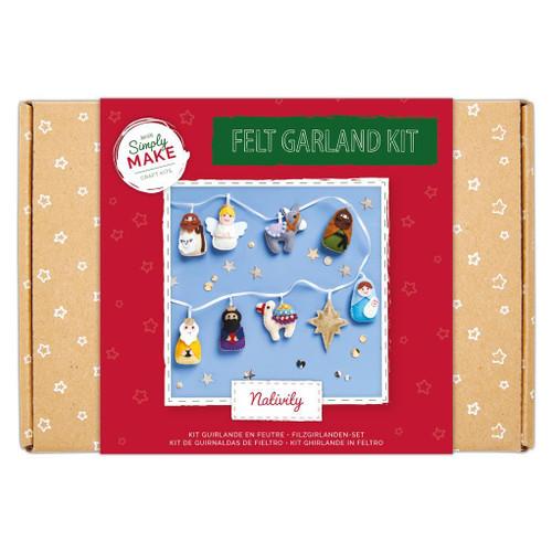 Felt Garland Kit - Nativity