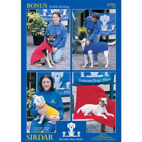 Battersea Dog Home - Dog Coat Patterns for Small, Medium & large