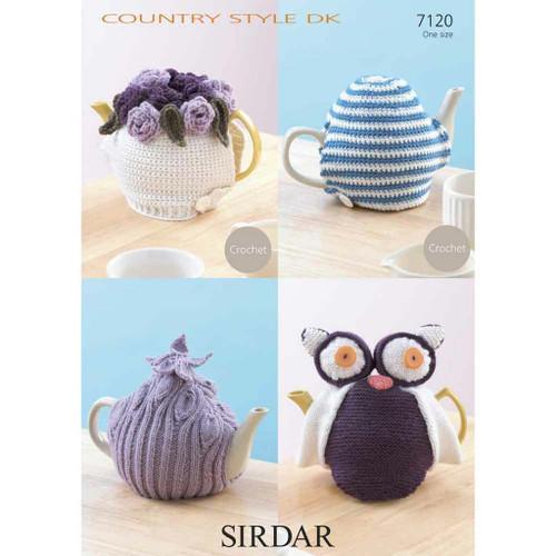 Tea Cosies Crochet / Knitting Pattern DK 7120