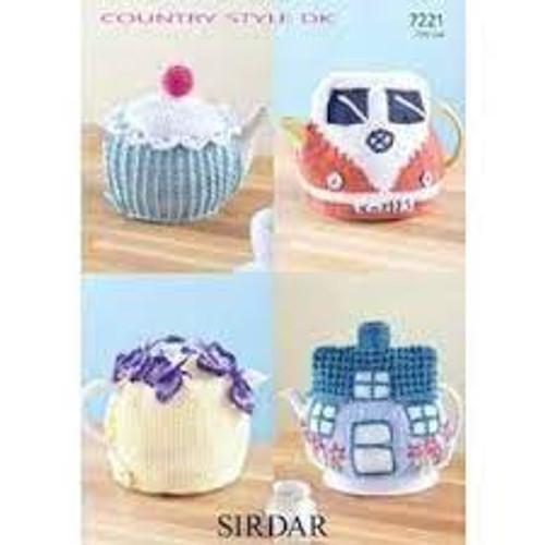Tea Cosy - DK Knitting & Crochet Pattern 7221