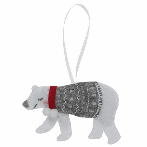 """polar bear Felt Decoration Kit"""""""