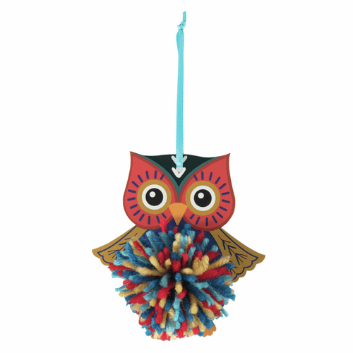 Pom Pom Decoration Kit - Owl
