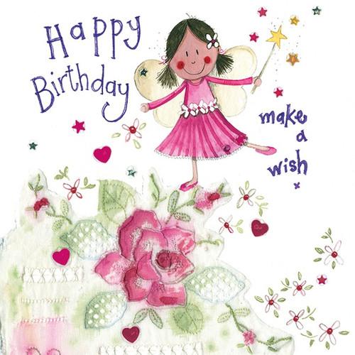 Birthday Wish Sparkles Card