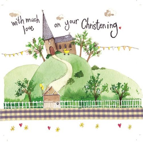 Christening Day Sparkles Card