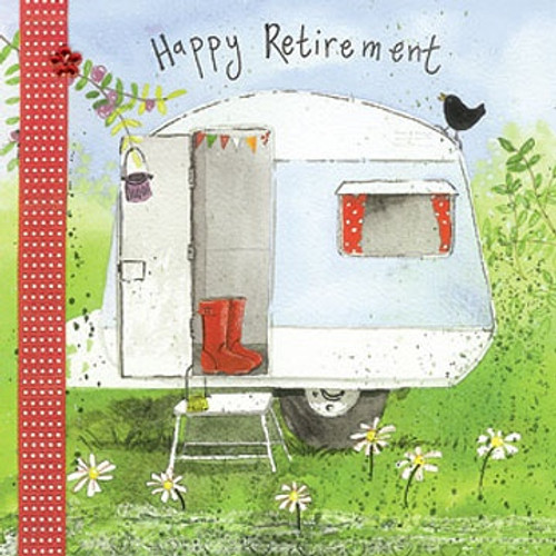 Caravan Retirement Card