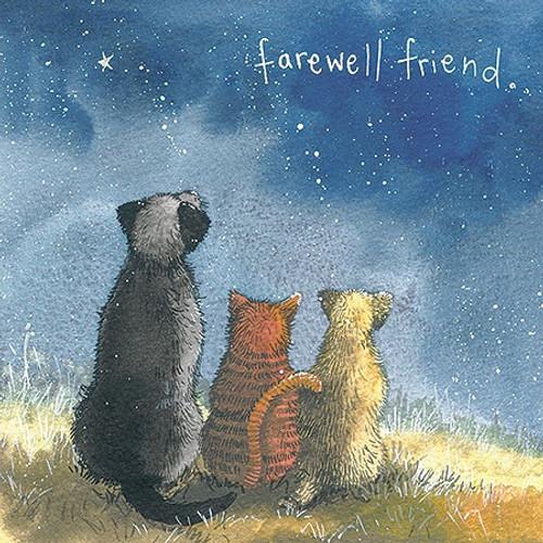 Farewell Friend Pet Sympathy Card