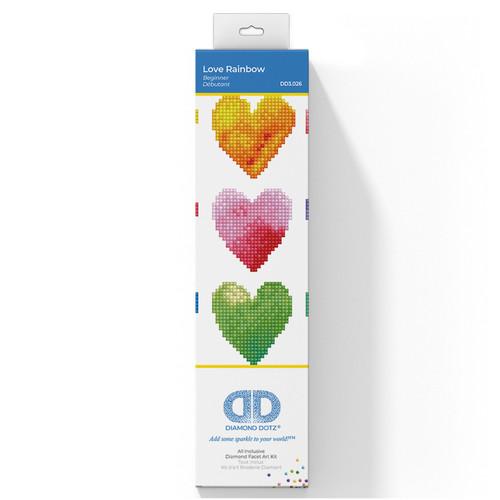 Love Rainbow Diamond Painting Kit