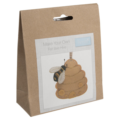 Bee Hive Felt Decoration Kit