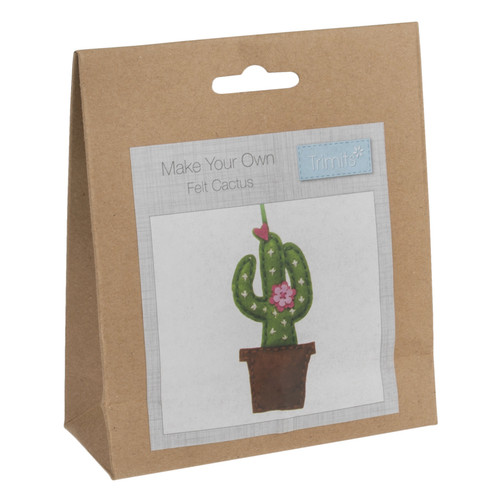 Cactus Felt Decoration Kit