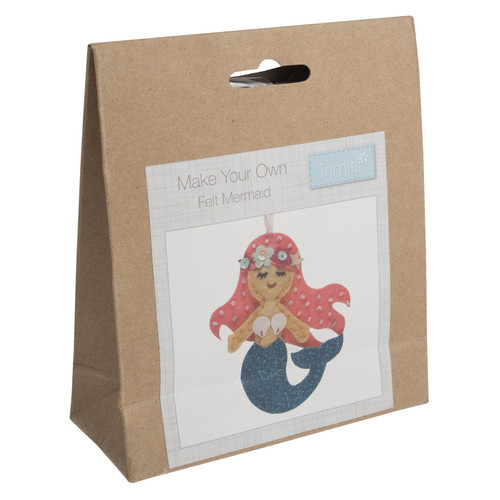 Mermaid Felt Decoration Kit