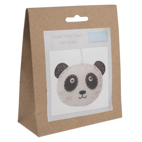Panda Felt Decoration Kit