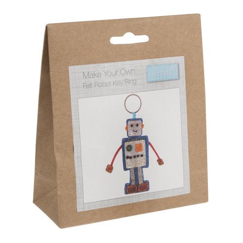 Robot Felt Decoration Kit
