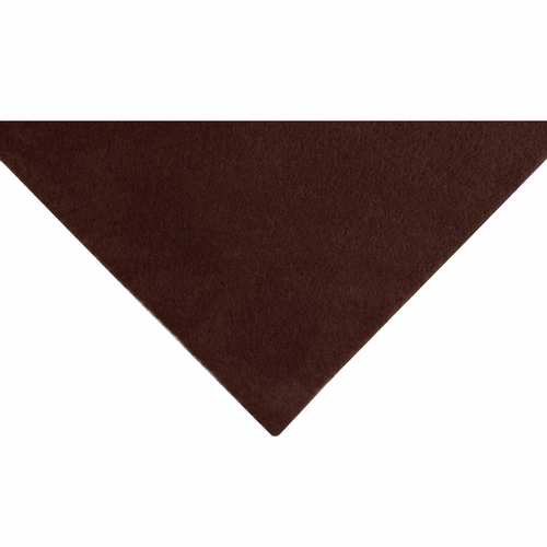 Brown Acrylic Felt Sheet (23cm x 30cm)